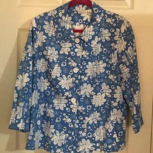 Kim Rogers L coat jacket lined